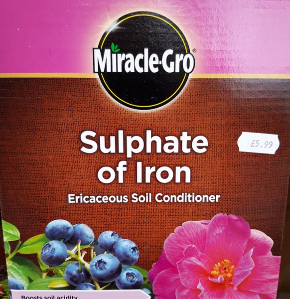 Sulphate of Iron 1.5kg