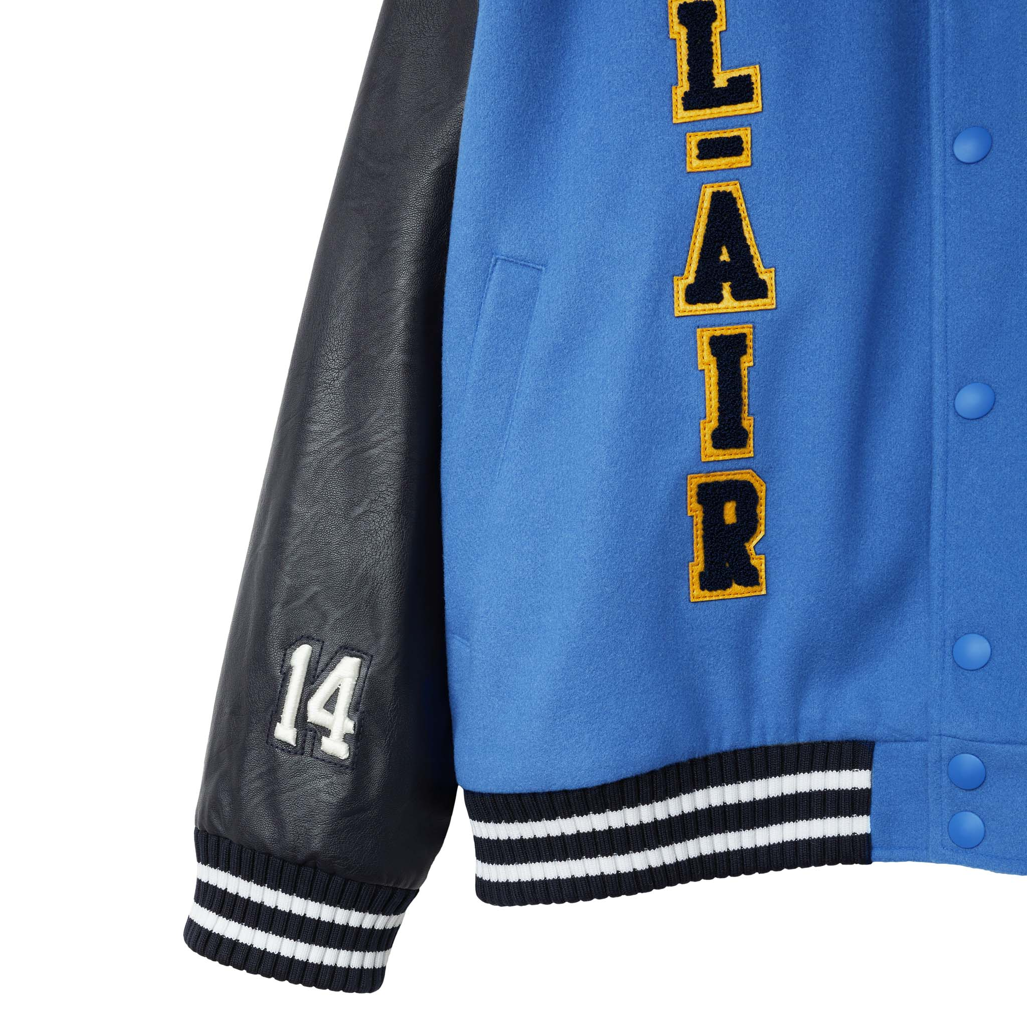 Bel-Air Banner Varsity Jacket - AVIATOR BLUE