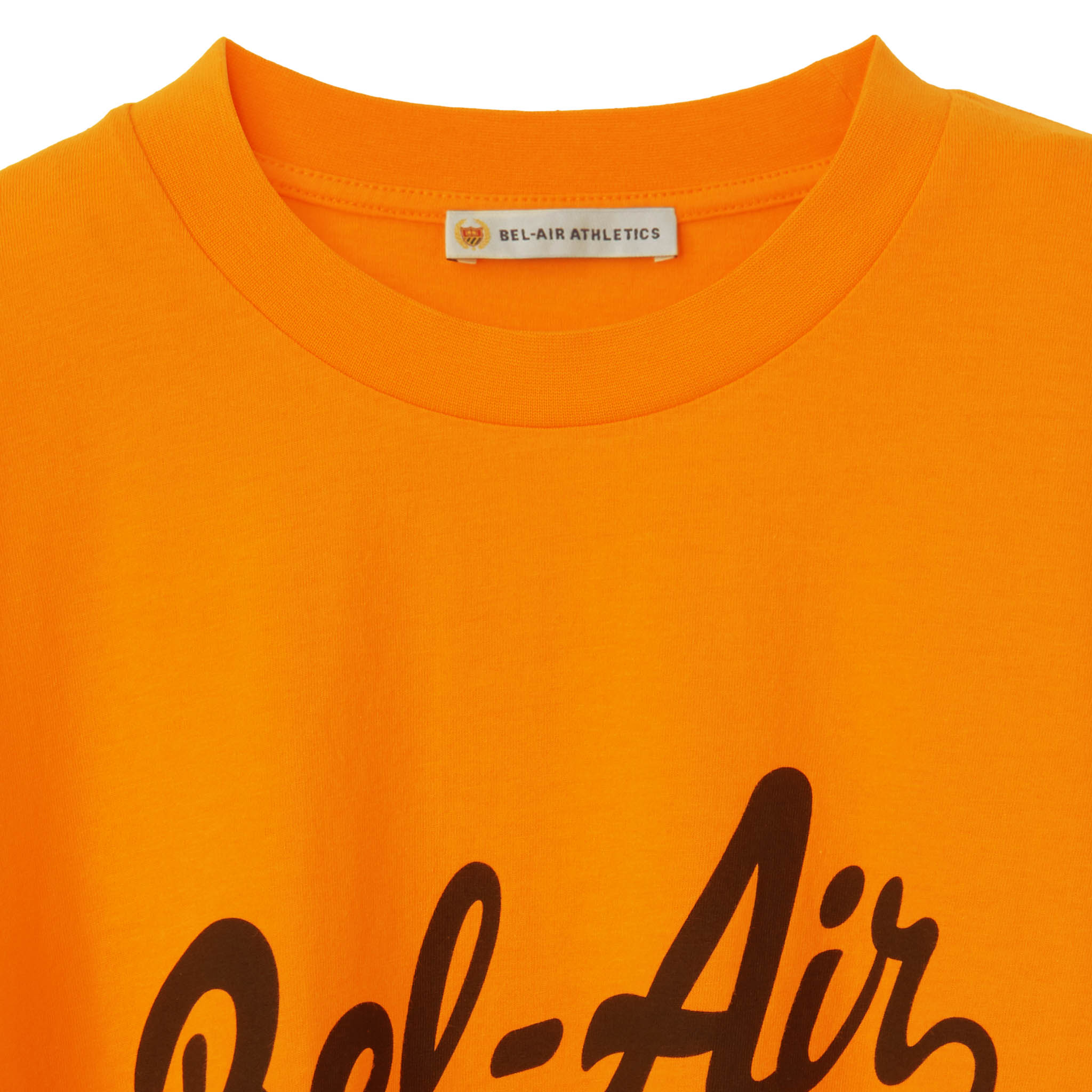 Script Logo T-Shirt - BRIGHT ORANGE
