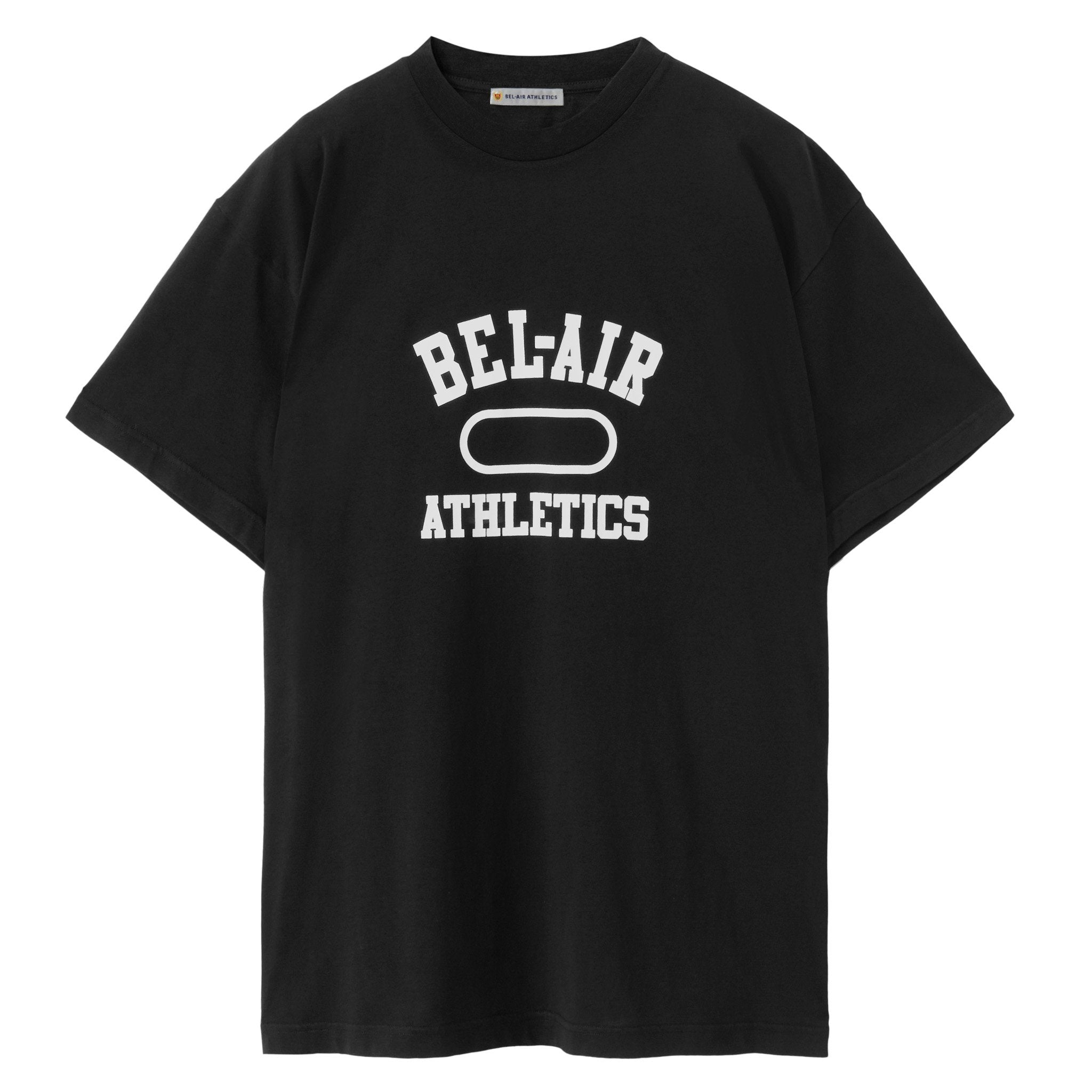 Gym Logo T-Shirt - VINTAGE BLACK