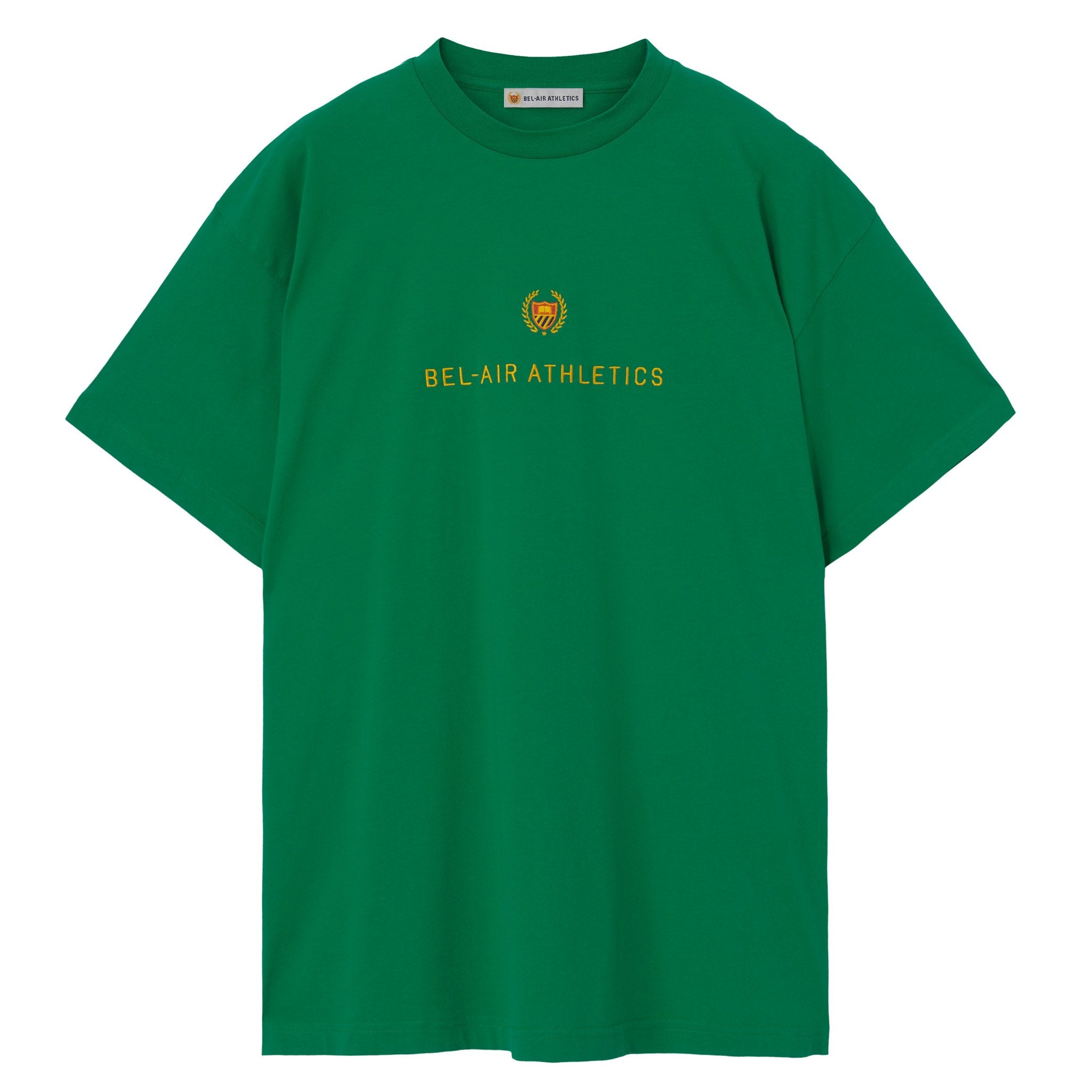 Academy Crest T-Shirt - FOREST GREEN