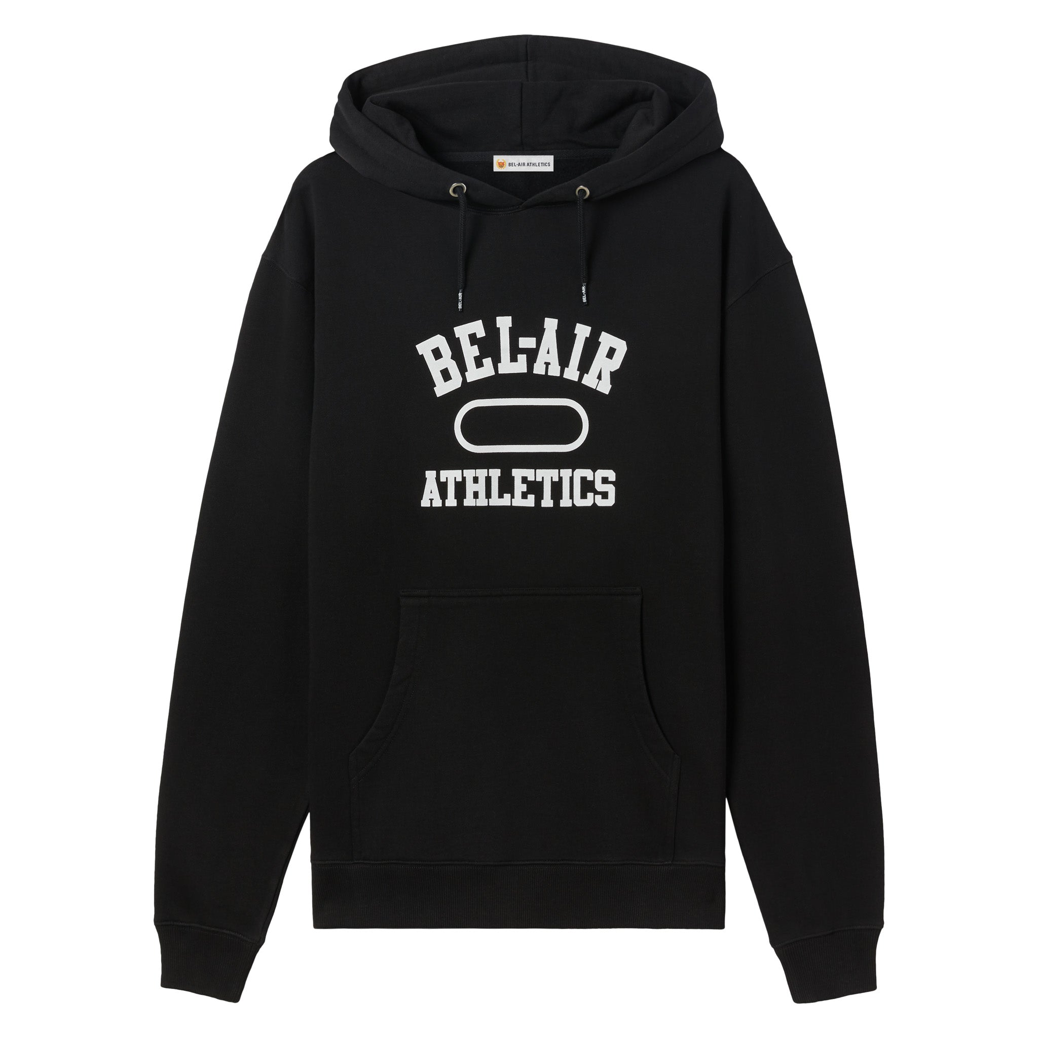 Gym logo hoodie - Vintage Black+Chalk White print