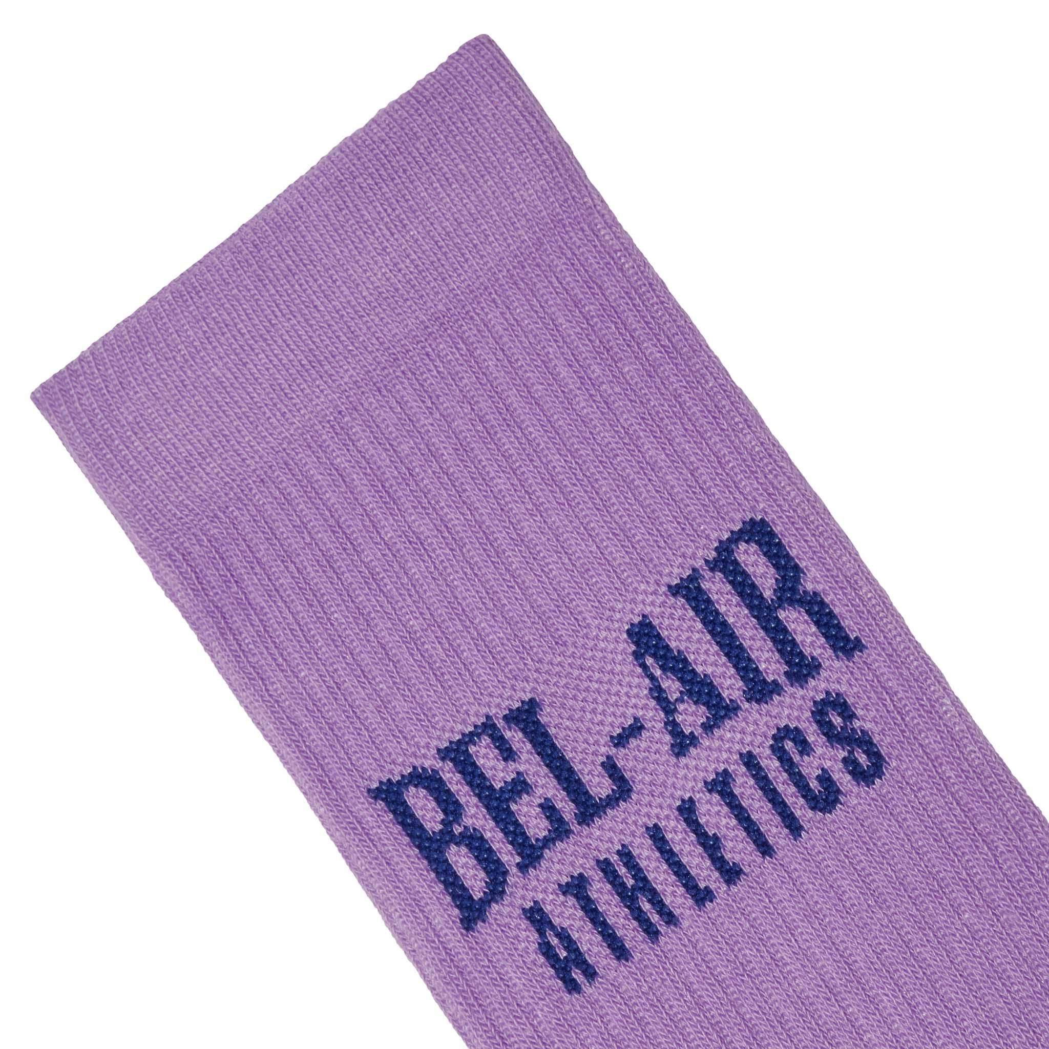 Bel Air Athletics Socks - Sorority Pink with Vintage black jacquard