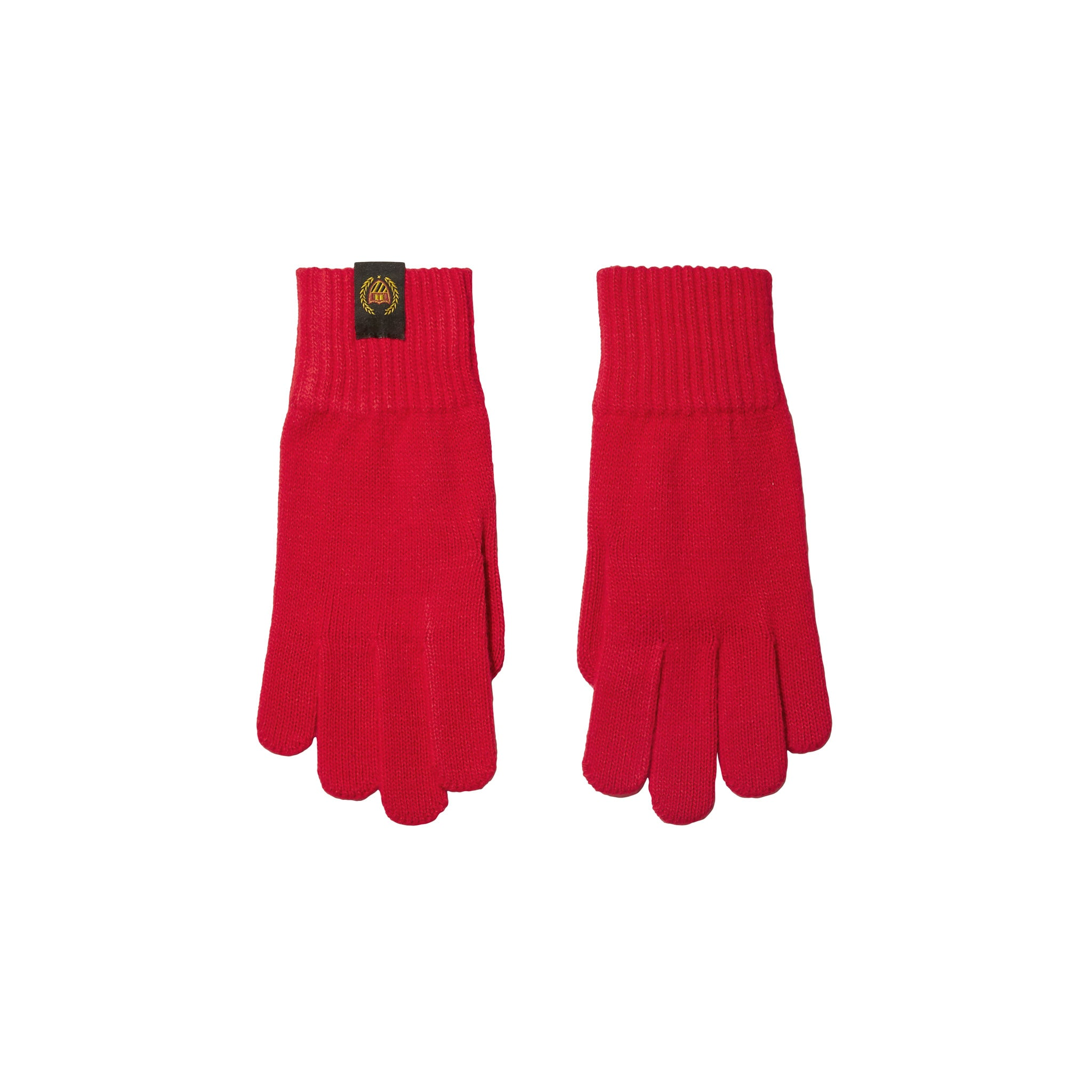 Academy crest Gloves - ACADEMY RED