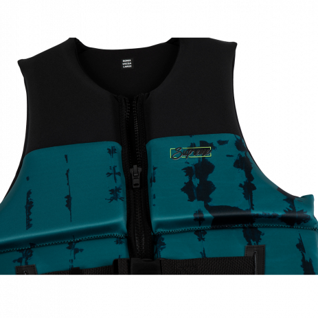 RONIX SUPREME YES US/CA CGA DEEP TEAL/BLACK TEXTURE MENS LIFE VEST 2021