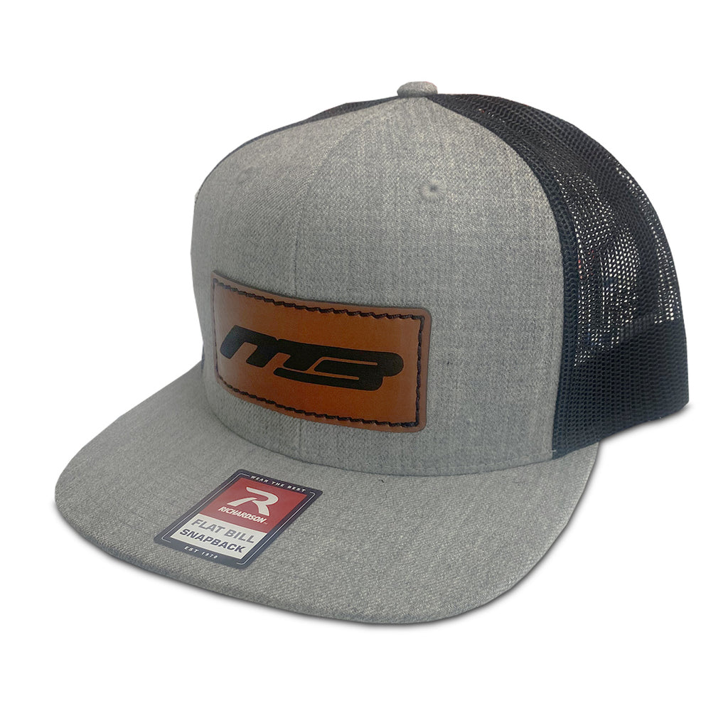 Snapback MB Boats Brown - Grey/Black Flatbill Hat
