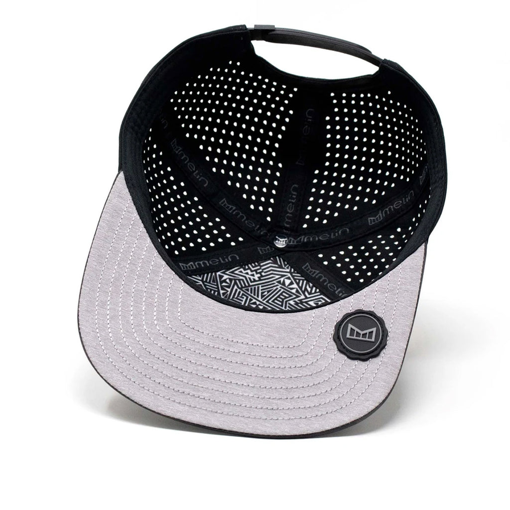 Nautique Black/Grey Trenches Melin Hydro Hat * Limited