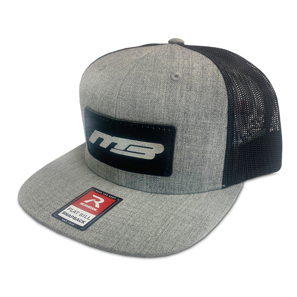 Snapback MB Boats Grey/Black Flatbill Hat