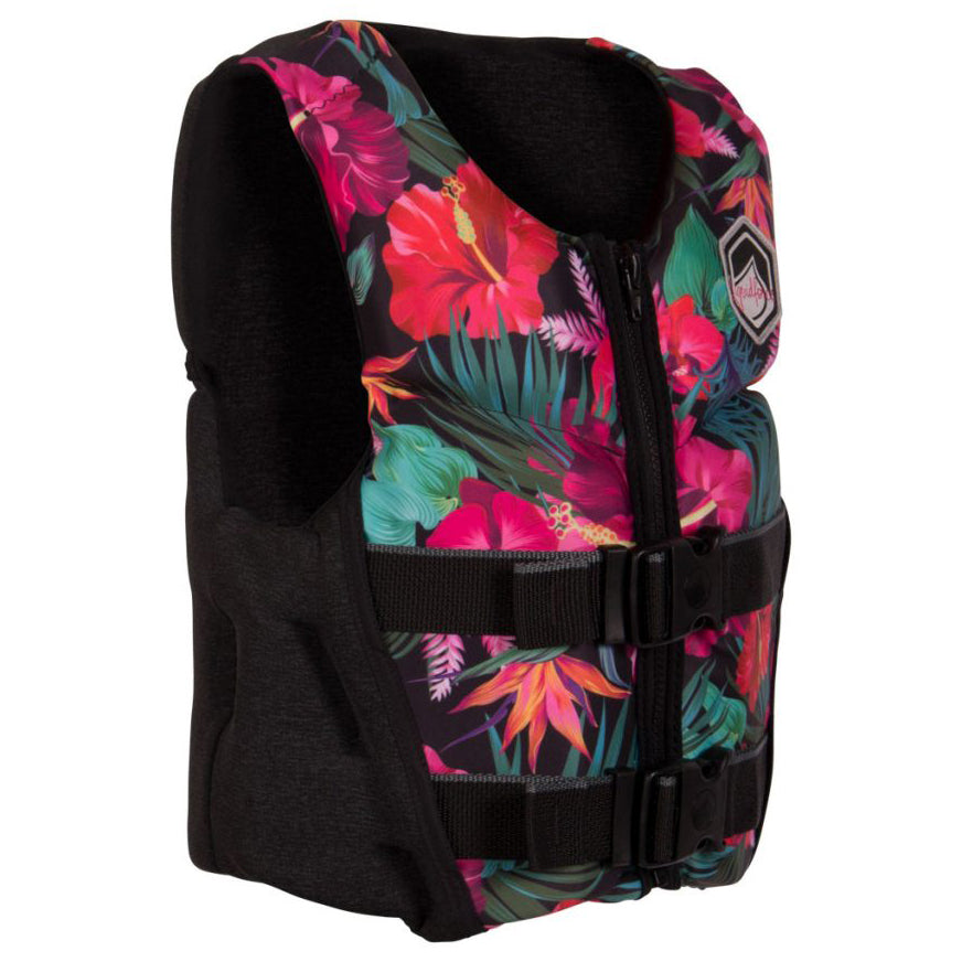 LIQUID FORCE LANAI YOUTH CGA TROPICAL (GIRLS) KIDS VEST 2021