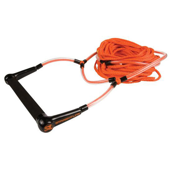 LIQUID FORCE ELEVATE DEEP V HANDLE W/3 SEC ORANGE SURF ROPE 2021