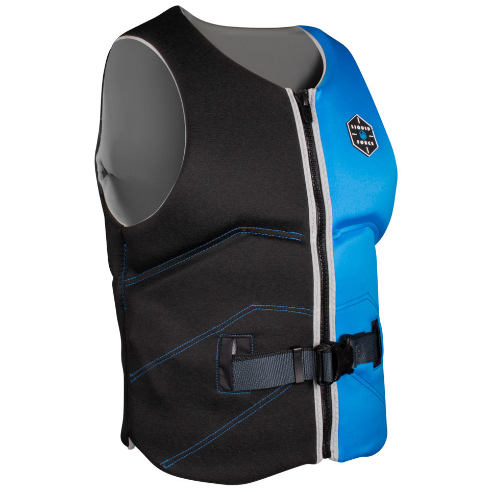 LIQUID FORCE TEAM COMP BLUE/ASH MENS VEST 2021