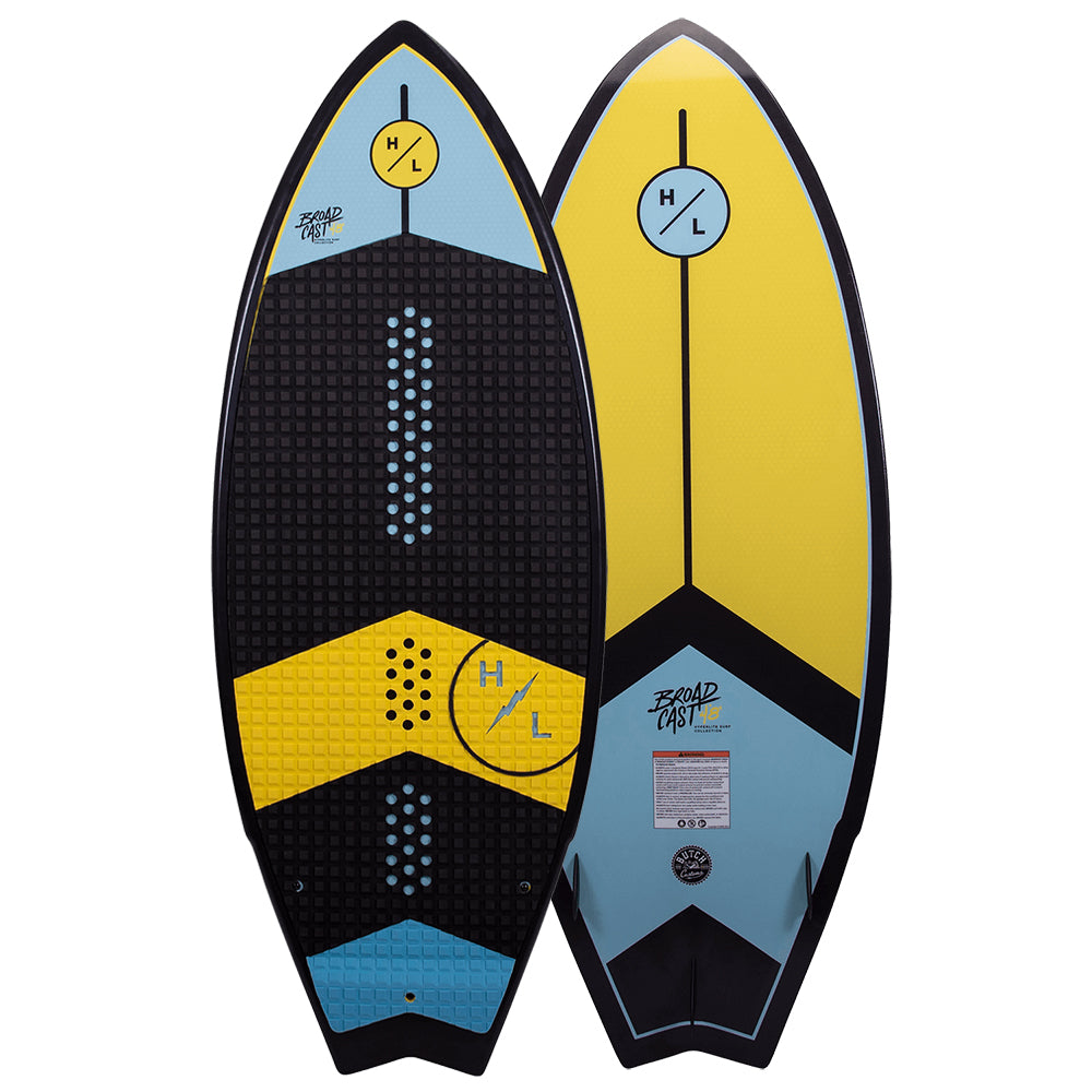 HYPERLITE BROADCAST 4.8 BWF MENS WAKESURF BOARD 2021