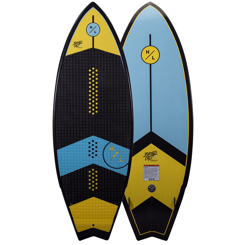 HYPERLITE BROADCAST 5.4 BWF MENS WAKESURF BOARD 2021