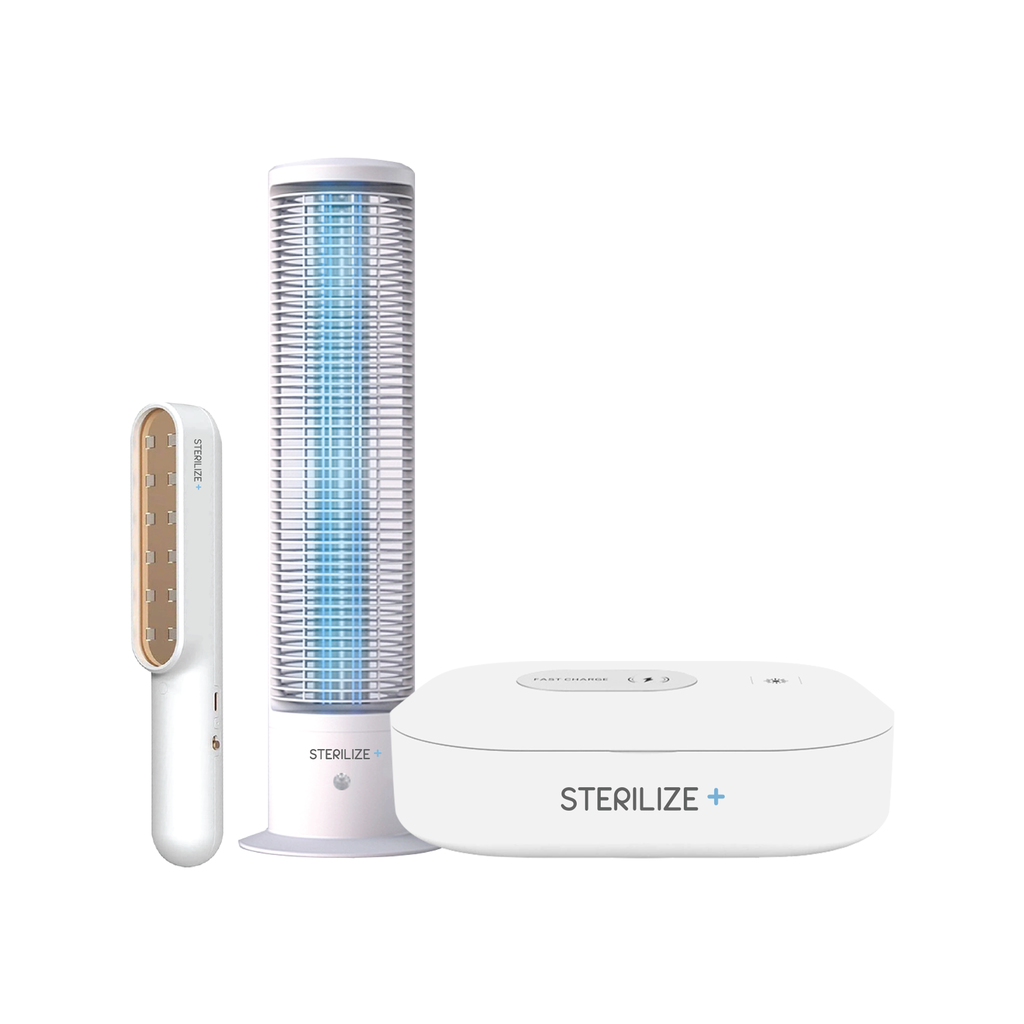Sterilize+™ UV Sanitizing Bundle Pack