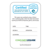 UV Sanitizing Record Card (Pack of 50)
