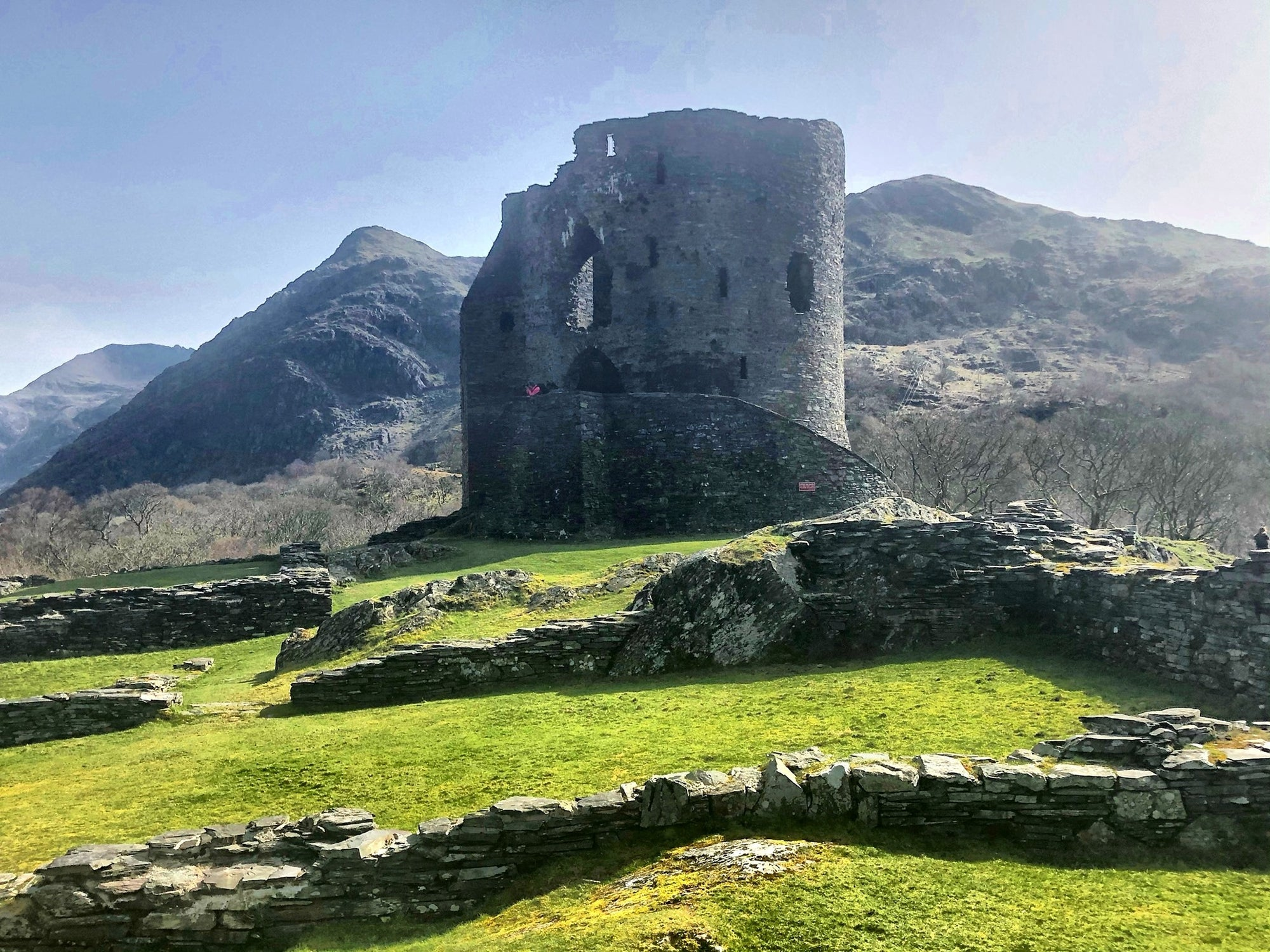 Forgotten Ruins of Dolbadarn Castle