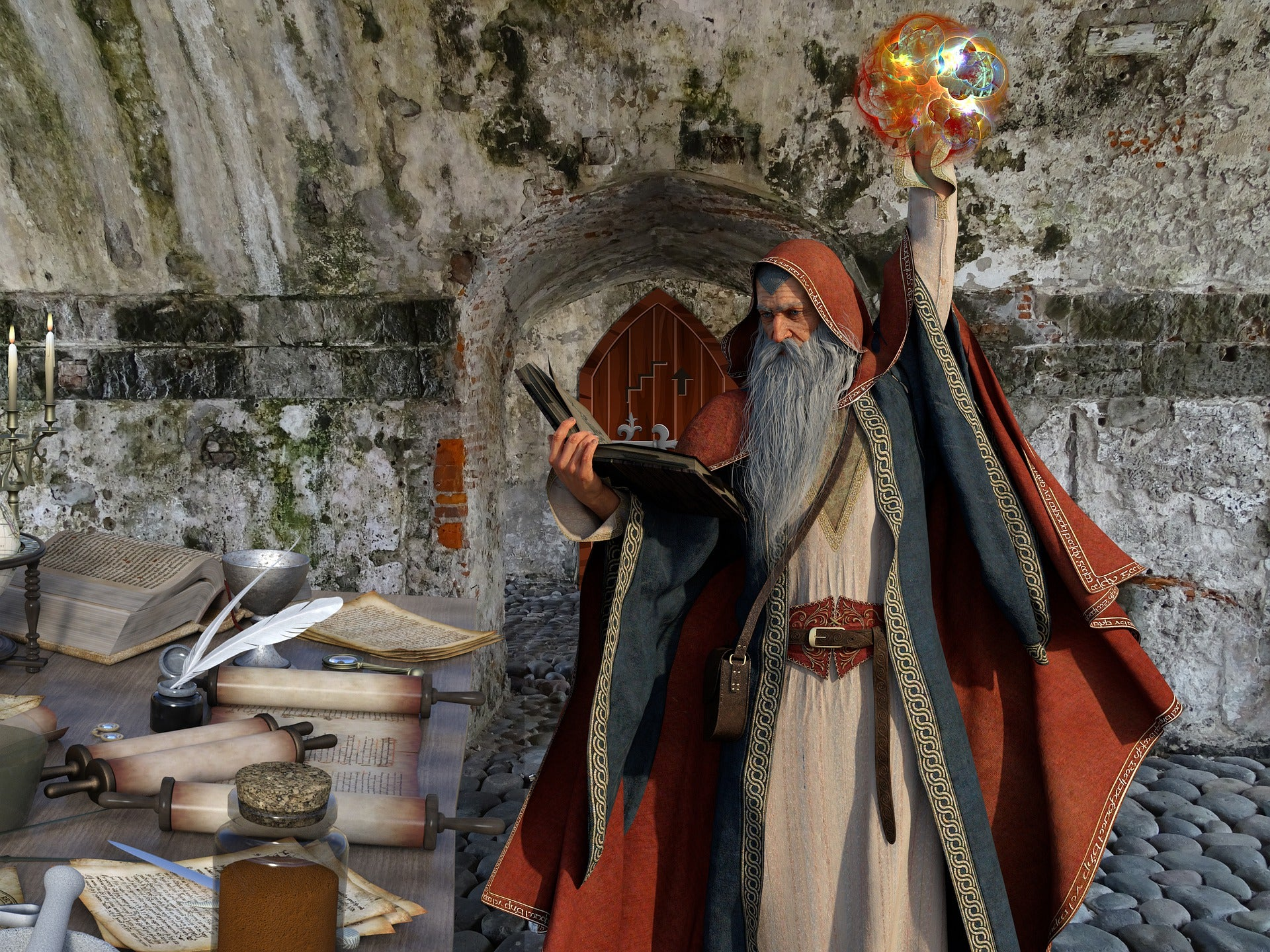 The Legendary Origins of Merlin The Welsh Wizard