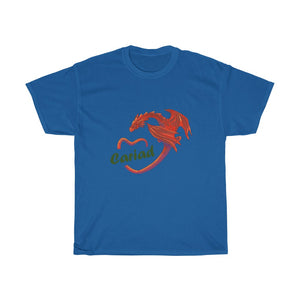 Cariad Love Red Dragon Unisex T-shirt