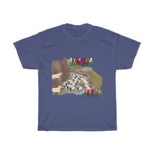 Rush Hour in Wales Unisex T-Shirt