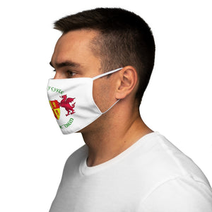 Dal ar y cyfle Carpe diem Face Cover Snug-Fit White