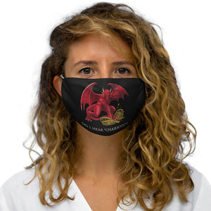 Cymraeg Welsh Dragon Reusable Face Cover Snug-Fit