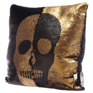 Skull Design Cushion