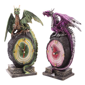 Dark Legends Dragon Clock