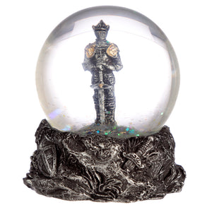 Collectable Knight Snow Globe