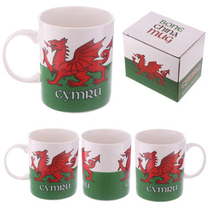 Wales Welsh Dragon Collectable New Bone China Mug