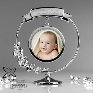 Personalised Crystocraft Photo Frame Ornament