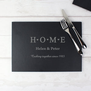Slate Rectangle Placemat