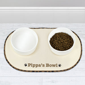 Pet Bowl Placemat