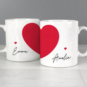 Two Hearts Mug Set