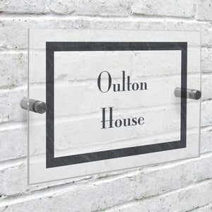 Acrylic House Sign