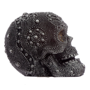Beaded Skull Ornament