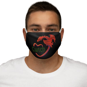Cwtch Red Dragon Face Cover Snug-Fit