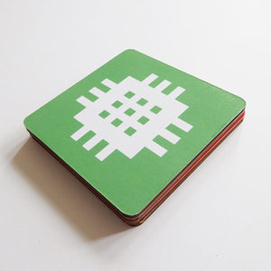 set of coasters