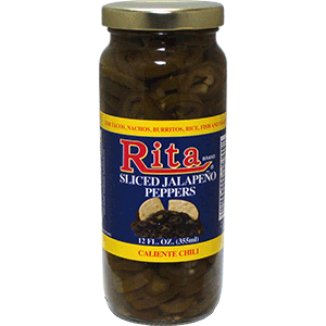 Rita Sliced Jalapeno Peppers