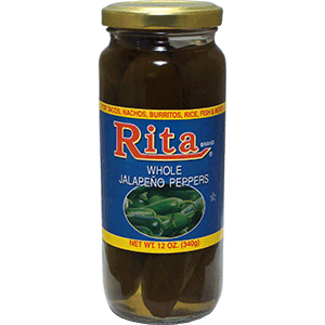 Rita Whole Jalapeno Peppers