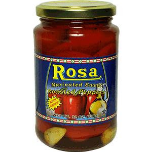 Rosa Marinated Roasted Peppers