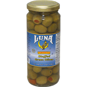 Luna Pimiento Stuffed Green Olives