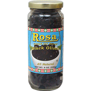 Rosa Pitted Oil Cured Olives