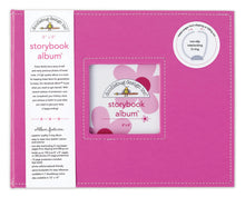 "Load image into Gallery viewer, Doodlebug Design - 8"" x 8"" Album (many colors available)"
