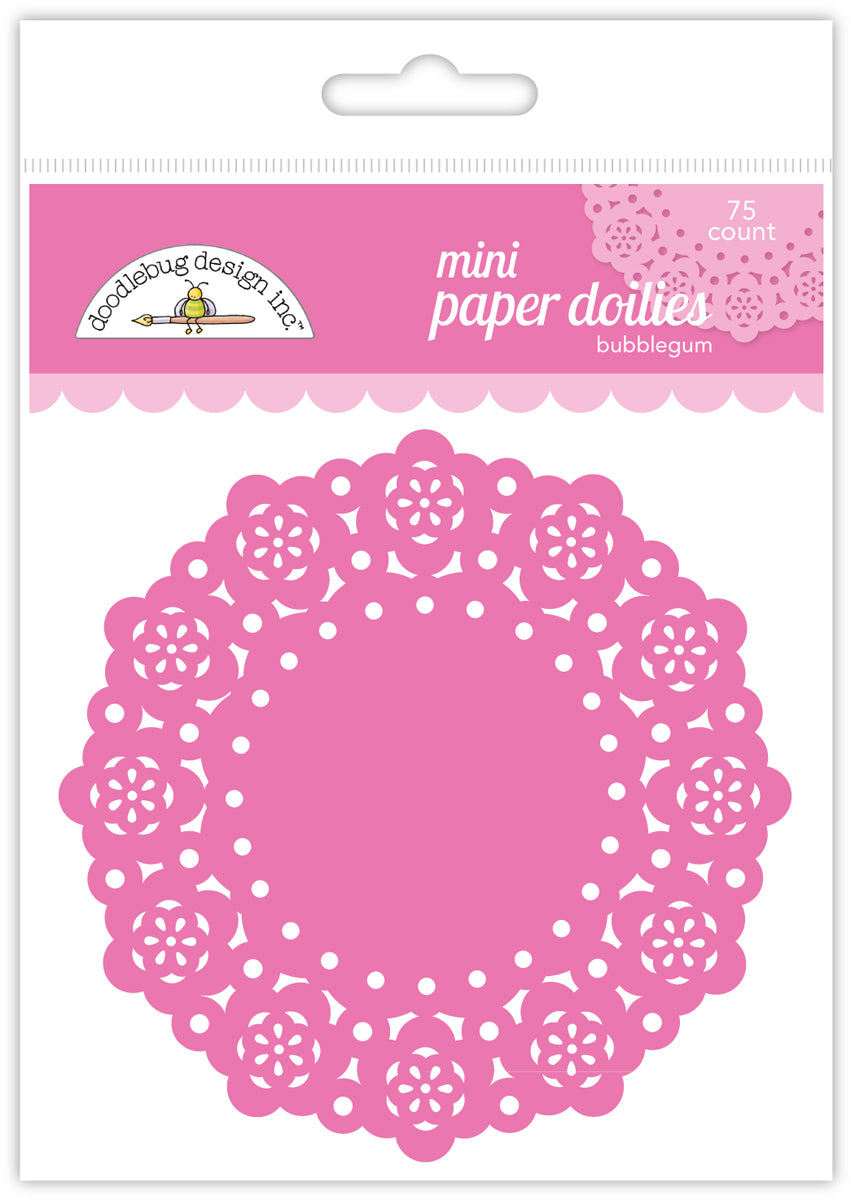 Doodlebug Design - Paper Mini-Doilies (many colors available)