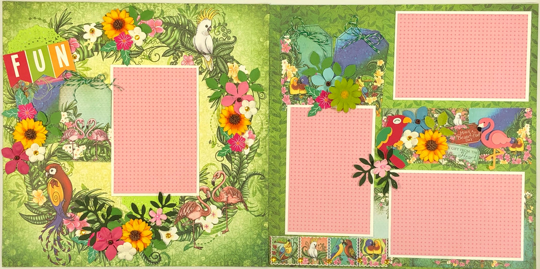 Fun Scrapbook Layout Kit