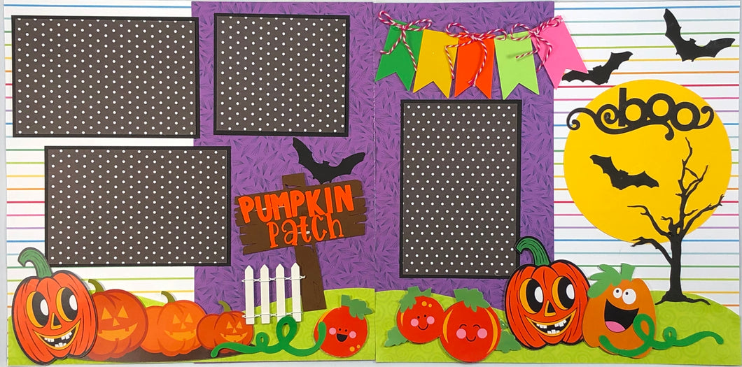Pumpkin Patch Scrapbook Layout Kit