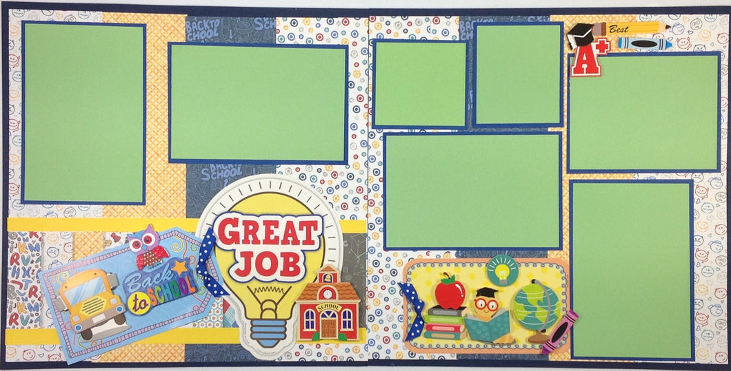 Great Job Scrapbook Layout Kit