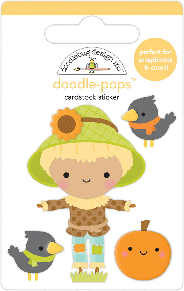 Doodlebug Design - Pumpkin Spice Collection - Doodle-Pops - Hay There
