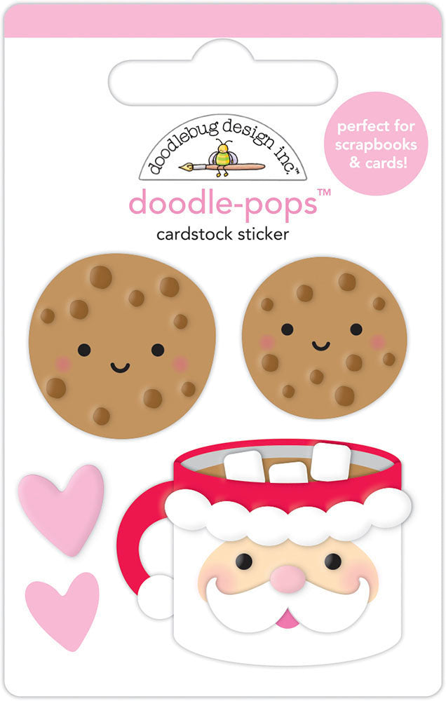 Doodlebug Design - Night Before Christmas Collection - Doodle-Pops - Cookies for Santa