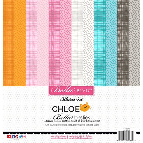 Bella Blvd - Chloe Collection - Besties - 12 x 12 Paper Pack